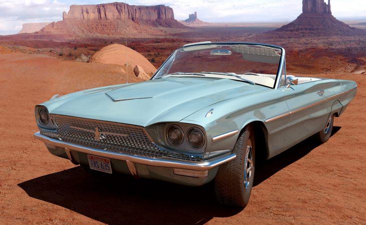 Ford Thunderbird Convertible Image