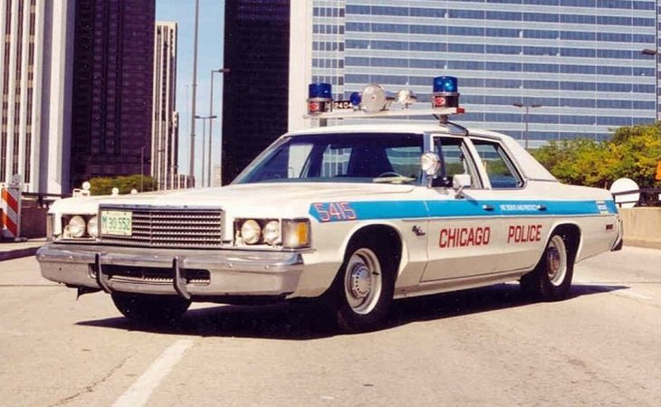 Dodge Royal Monaco Police Car Image